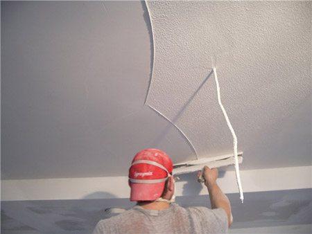 Финальный этап. Поверхность потолка в шаге от идеала.
