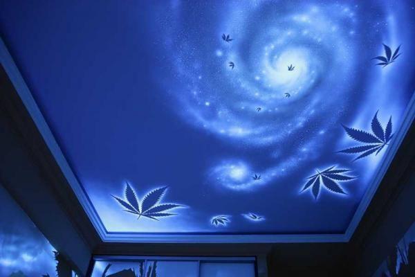Флуоресцентные 3D обои.