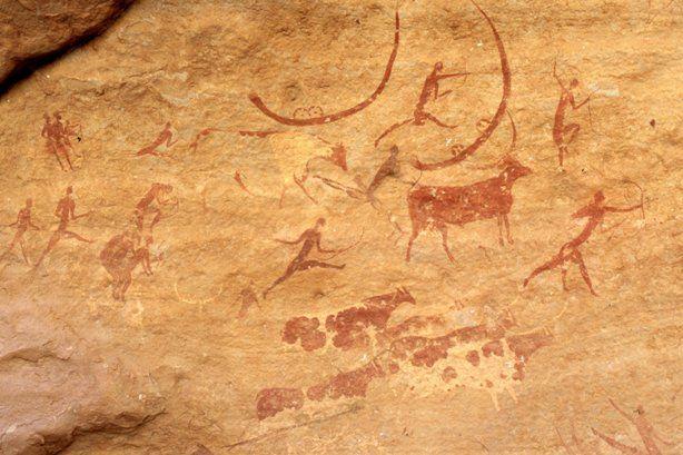 Фреска на гибкой штукатурке выглядит частью потолка или стены. Очень старых потолка или стены.