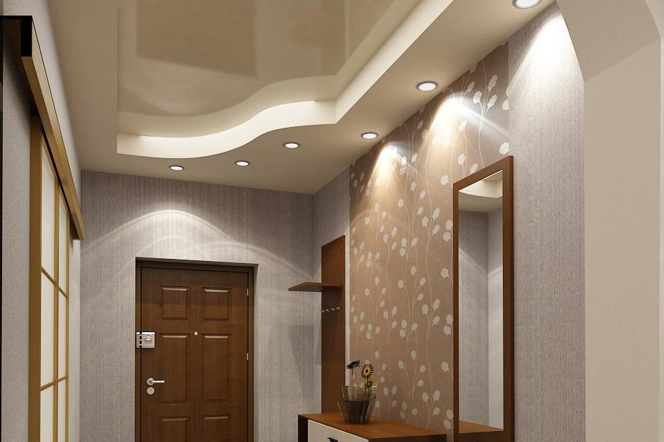 Дизайн сводчатых потолков в прихожую фото