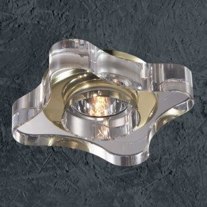 Галогенный врезной декоративный светильник
