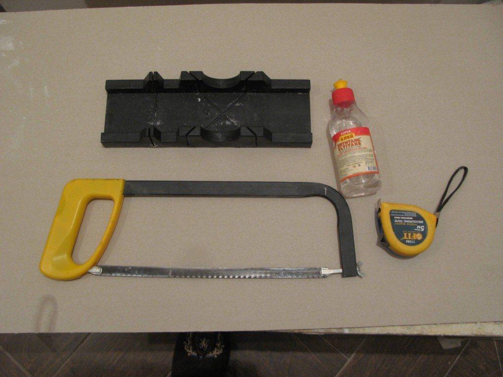 Необходимый минимум инструментов.