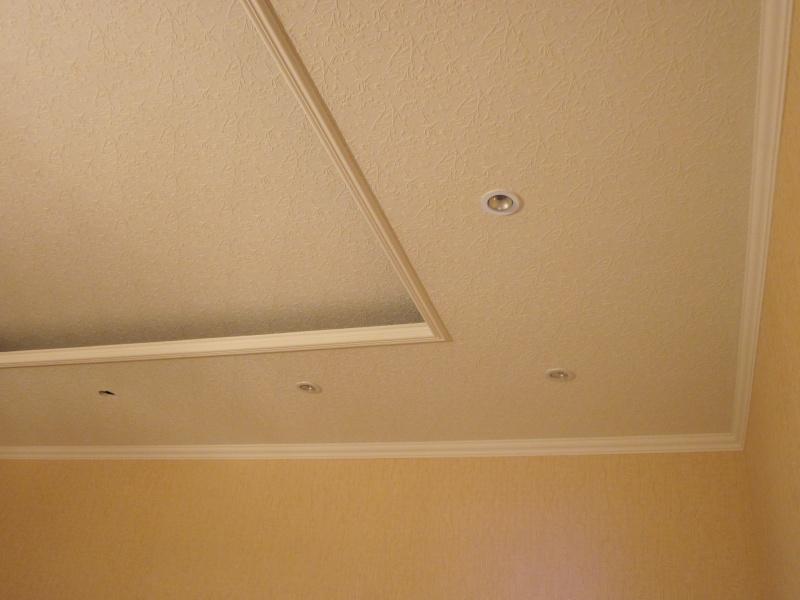 Потолки из гипрока, гипсоволокнистых листов, прочнее, чем из гипсокартона.