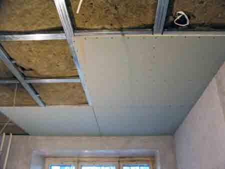 Как сделать потолок из гипсокартона с подсветкой: инструкция по монтажу