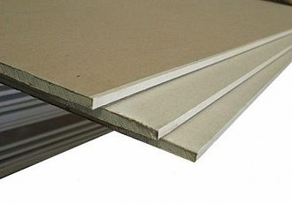 ГКЛ КНАУФ/ гипсокартонный лист обычный 1200х2500х12,5мм