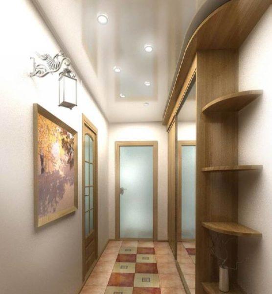 Гладкая и матовая облицовка стен идеальна для настенных светильников.