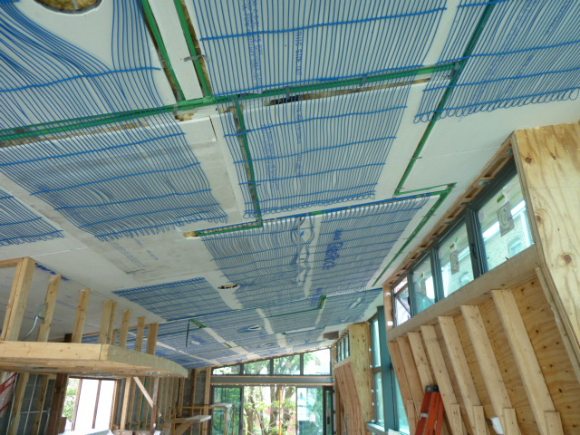 Маты охлаждающей потолочной системы