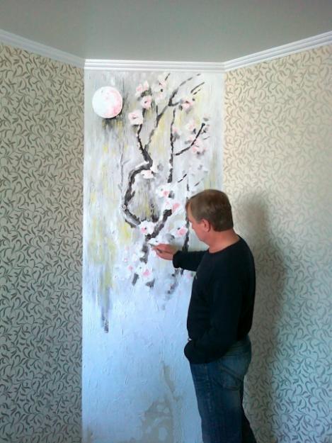 Декор на стенах и потолках своими руками