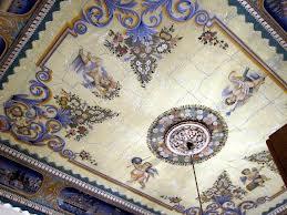 Виды потолков с художественной росписью