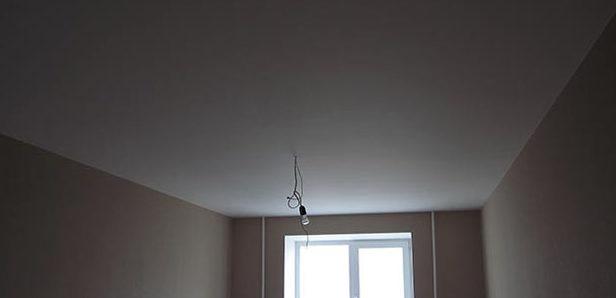 Идеально окрашенный потолок