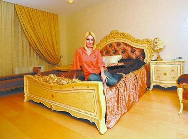 Спальня телеведущей