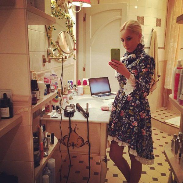 Ванная комната Леры Кудрявцевой