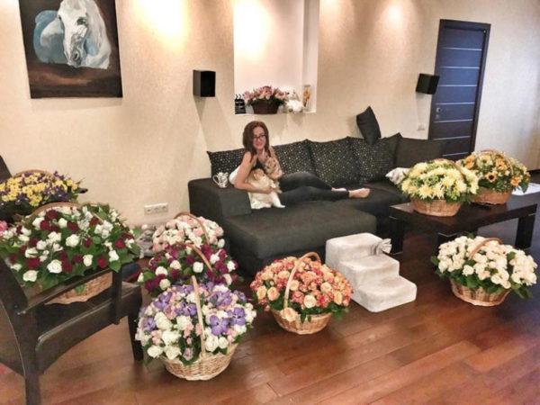 Гостиная комната Ольги Бузовой