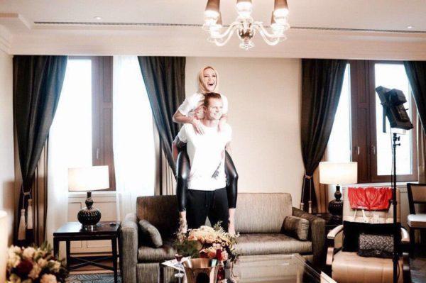Гостиная Ольги Бузовой