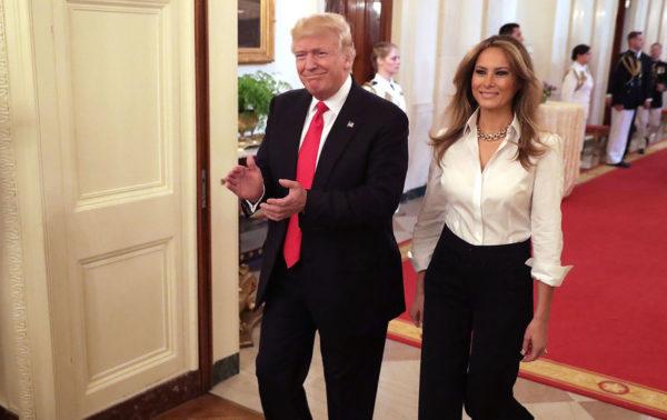 Мелания Трамп супруга Дональда Трампа