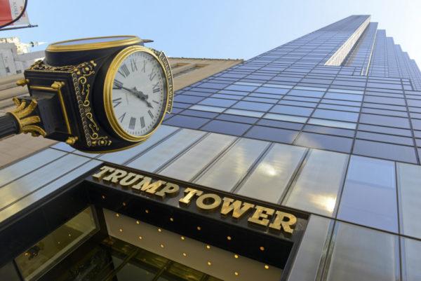 Апартаменты Мелании Трамп занимают 3 последних этажа этого здания