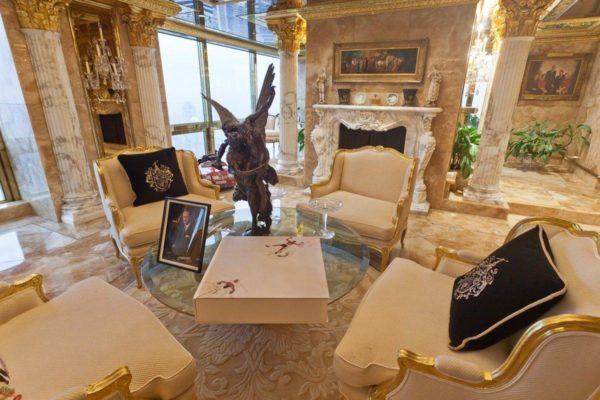 Гостиная комната супруги президента