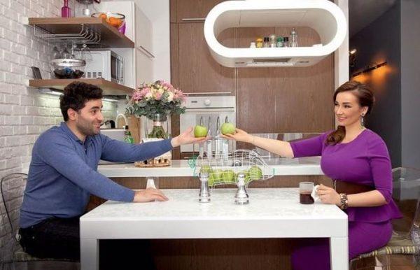 Кухня Анфисы и ее супруга