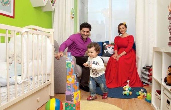 Детская комната в квартире Анфисы