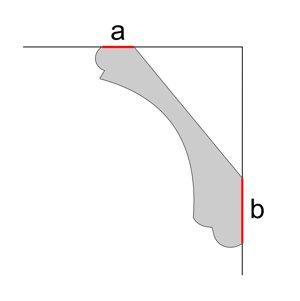 Правильная установка потолочного плинтуса