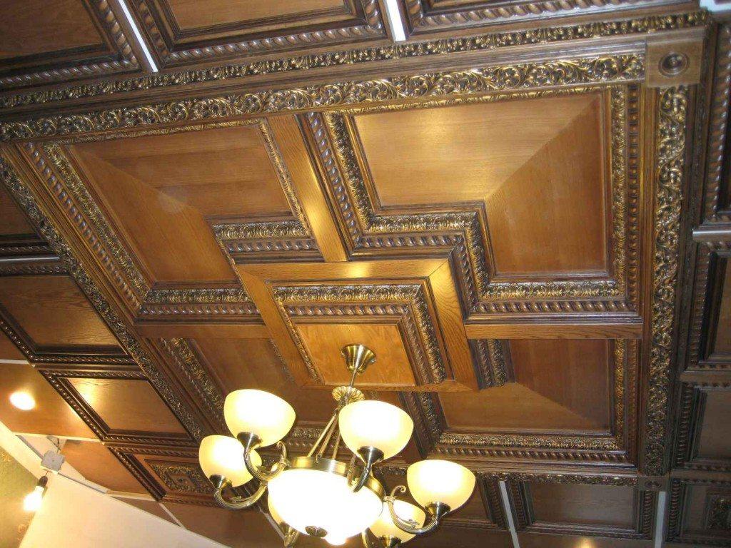С помощью галтелей можно создавать неповторимый дизайн потолка