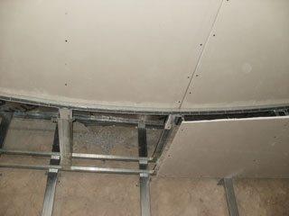 Подвесные двухуровневые потолки своими руками
