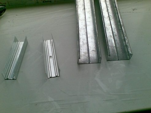 Металлический профиль под короб