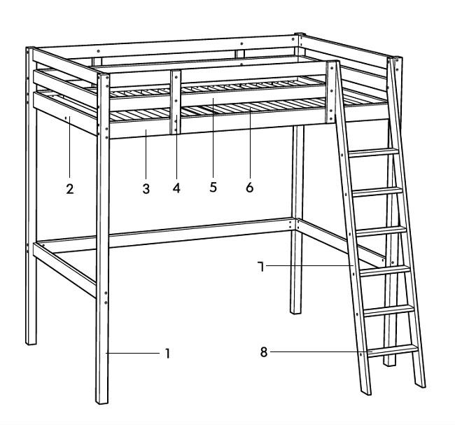 двухъярусная кровать из металла своими руками чертежи Companypoks