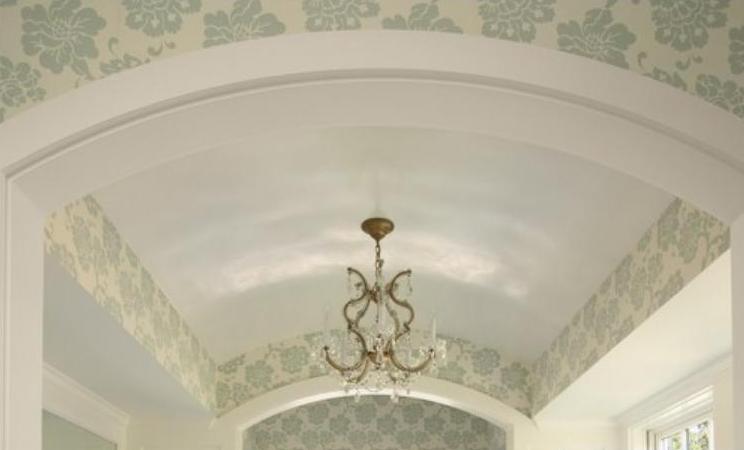 Устройство сводчатого потолка в доме