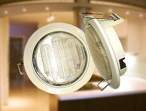 Встраиваемый в натяжной потолок светильник