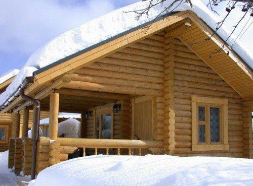 Деревянный дом - сам по себе теплое сооружение. Как сделать, чтобы он стал еще теплее?