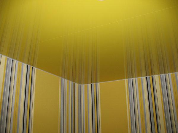 Гармония отделки стен и потолка