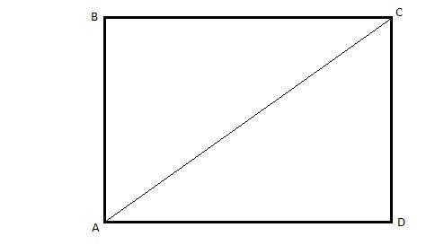 Простейший случай. Достаточно замерять стены и диагональ
