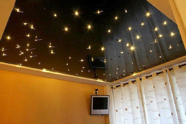 Натяжные потолки ПВХ или ткань – оригинальный дизайн любого помещения
