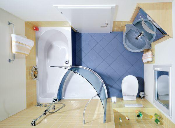 Типичная ванная в многоквартирном доме весьма невелика.