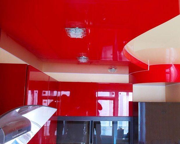 Как выбрать цвет натяжного потолка: советы по дизайну, фото и видео различных вариантов