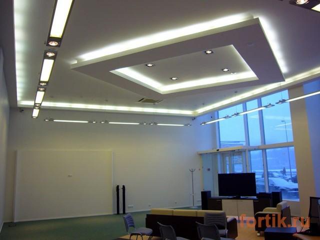 Двухуровневый потолок – идеальная платформа для воплощения в жизнь самых смелых фантазий