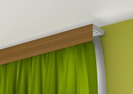 Карниз потолочный – уникальная альтернатива настенным вариантам оформления окон