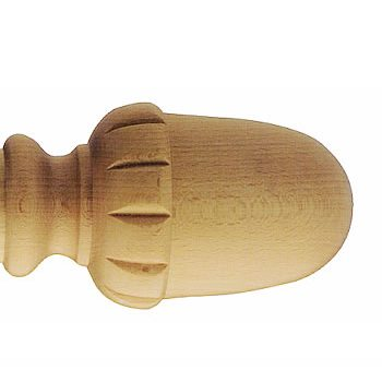 Заглушка служит одновременно и фиксатором, и декоративным украшением