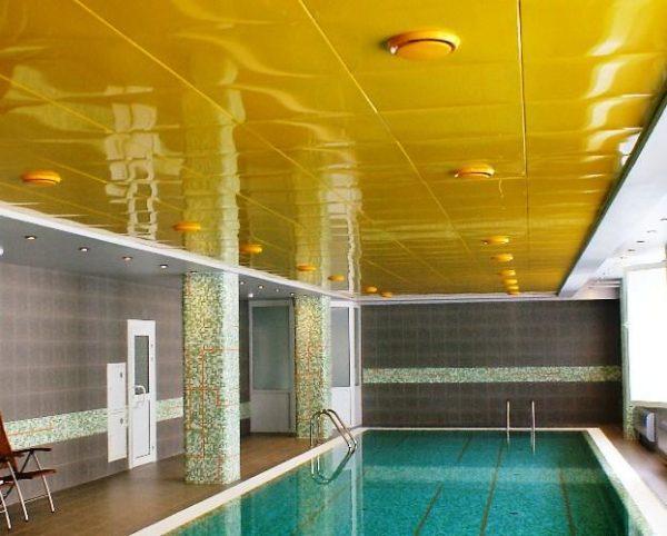 Кассетные потолки – отличный выбор для помещений с высоким уровнем влажности