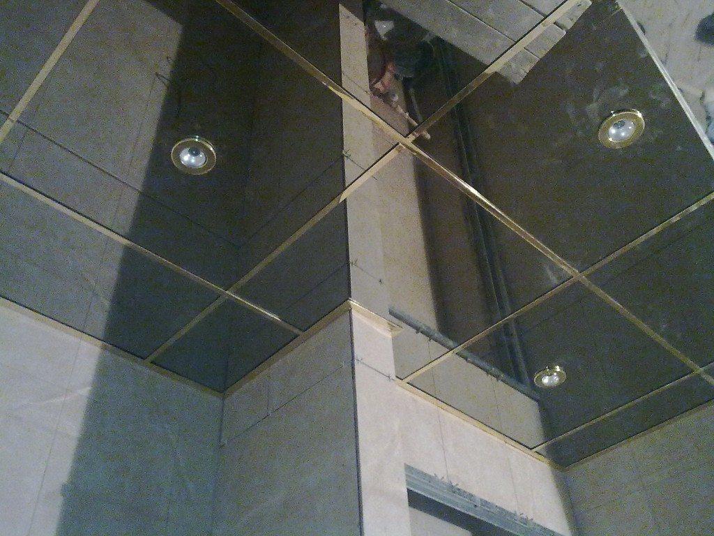 Навесные потолки в ванной: инструкция по монтажу