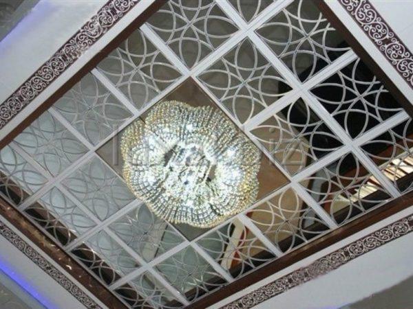Кассетные потолки могут быть потрясающе красивыми