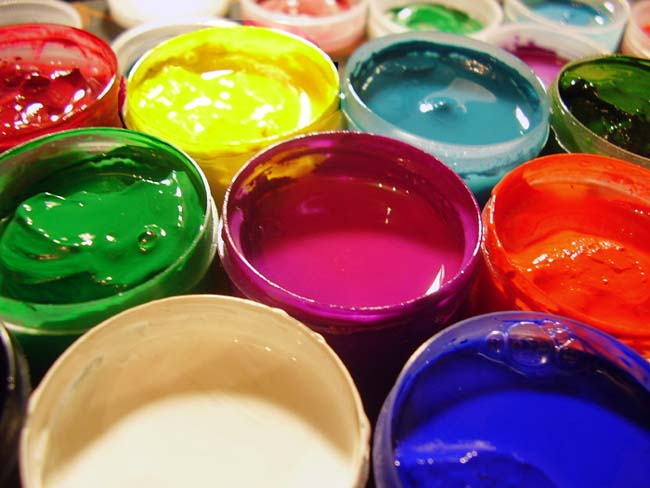 Клеевые краски для внутренних работ