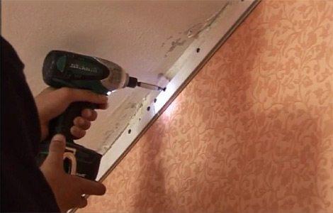 Инструкция по монтажу натяжных потолков – пленочных и тканевых