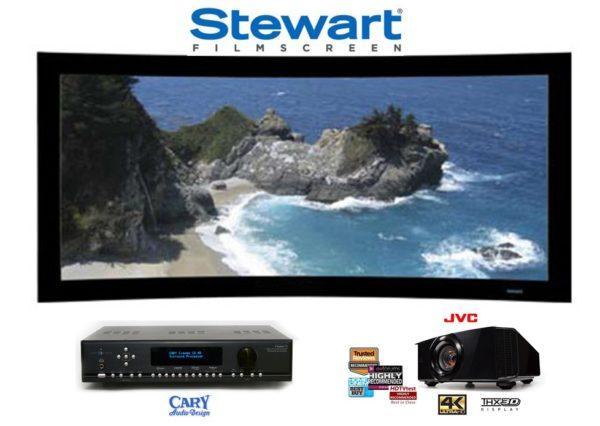 Компания Stewart – ведущий производитель проекционных экранов.