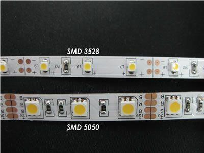 Конструкции различных светодиодных лент