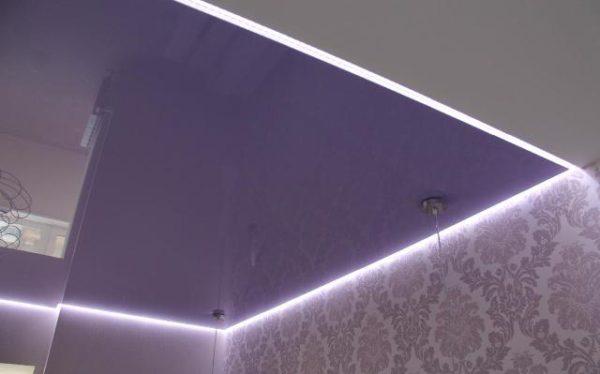 Контурное освещение с помощью светодиодных лент