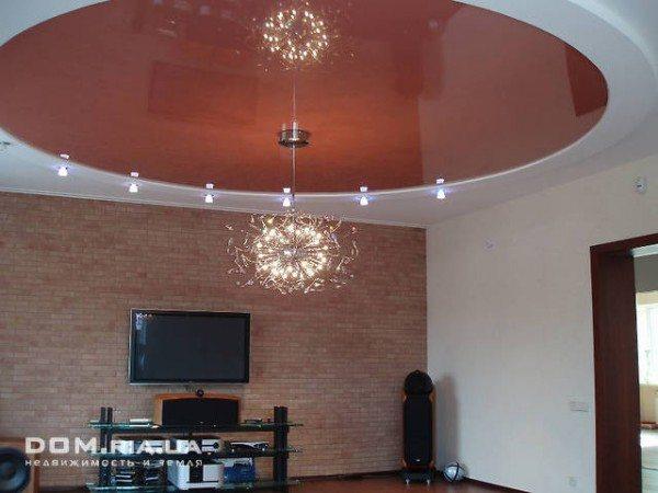 Дизайн потолков на кухне: подбираем подходящий