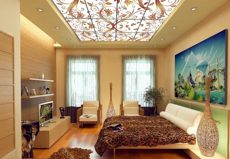 Двухуровневые потолки своими руками фото