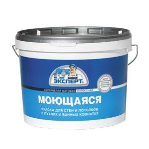 Краска на латексной основе позволяет мыть потолок, не беспокоясь за сохранность поверхности.